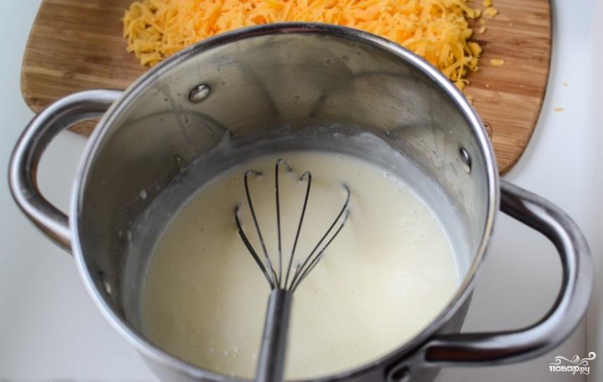 Макароны с сыром и брокколи - фото шаг 3