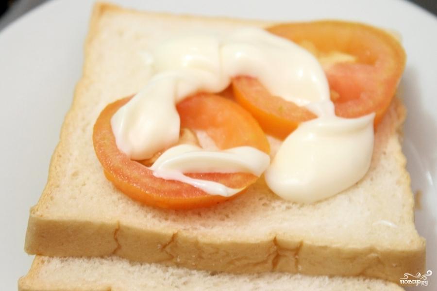 Бутерброды с кальмарами - фото шаг 3