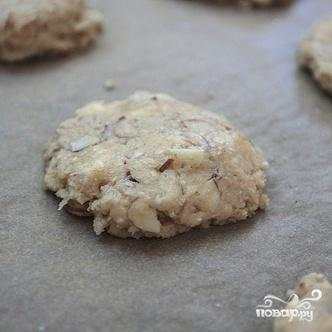 Овсяное печенье с белым шоколадом и миндалем - фото шаг 7