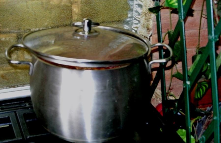 Рецепт Варенье из замороженной клюквы