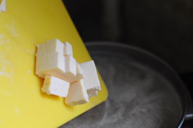 Сырный крем-суп с грибами   - фото шаг 5