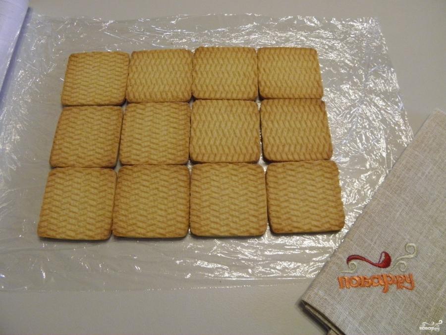 Торт из печенья без выпечки - фото шаг 2