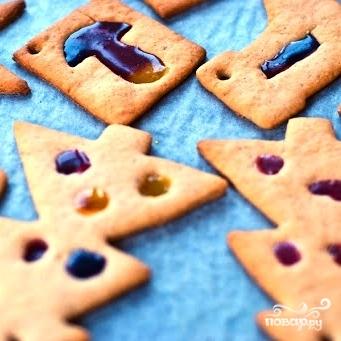 Новогоднее имбирное печенье - фото шаг 8