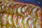 Слоеное дрожжевое тесто с яблоками