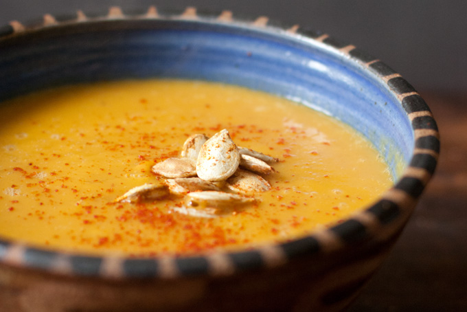 Диетический суп из тыквы - фото шаг 7