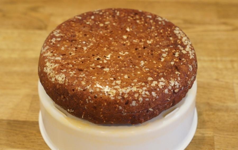 Торт с клубникой в мультиварке - фото шаг 6