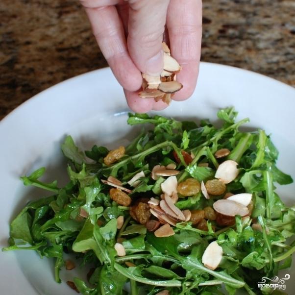 Лимонный салат с рукколой - фото шаг 8