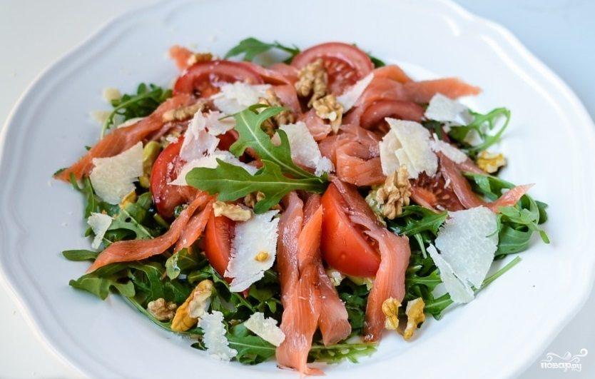 Рецепты салатов слоями фото