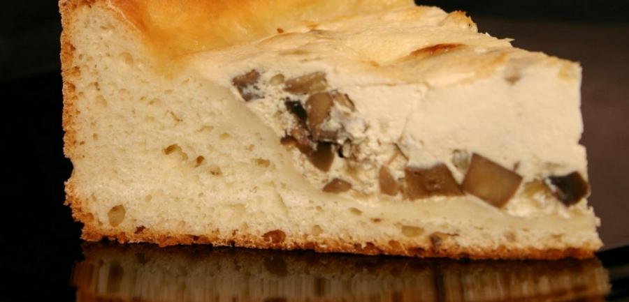 Пирог с грибами и яйцом - фото шаг 5