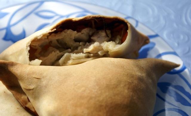 Узбекские пирожки с мясом - фото шаг 9