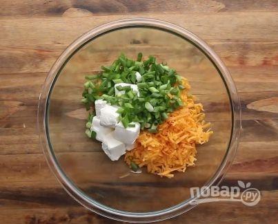 Запеченные картофельные вулканчики - фото шаг 3