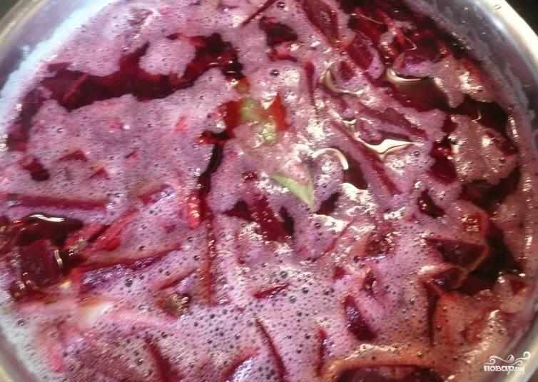 Свекольный суп для похудения - фото шаг 5