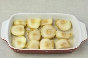 Суфле из яблок с манной крупой - фото шаг 4