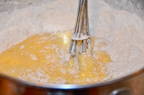 Медовый торт в заварном тесте - фото шаг 4