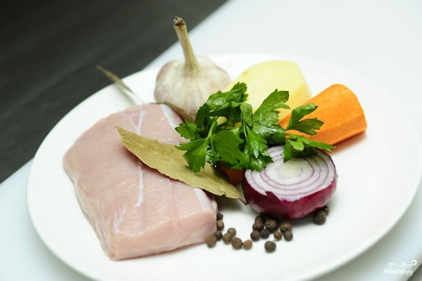 Картофляники с мясом - фото шаг 1