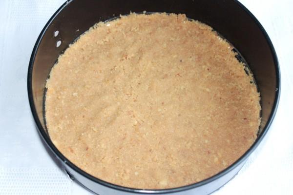 Черничный чизкейк со сливками - фото шаг 3