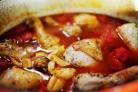 Куриные ножки в томатном соусе в духовке