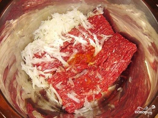 Суп с фрикадельками и томатной пастой - фото шаг 1