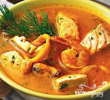 Рецепт Рыбно-кукурузная похлебка
