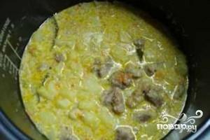 Картофель с говядиной в мультиварке - фото шаг 12