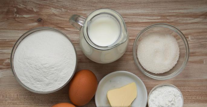 Рецепт Блинчики из рисовой муки