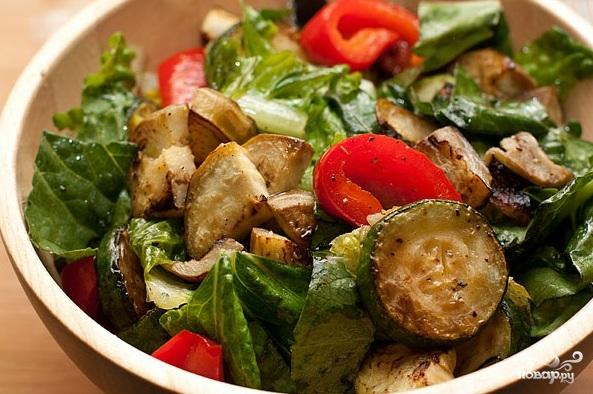 Салат из кабачков с кедровыми орешками - фото шаг 4