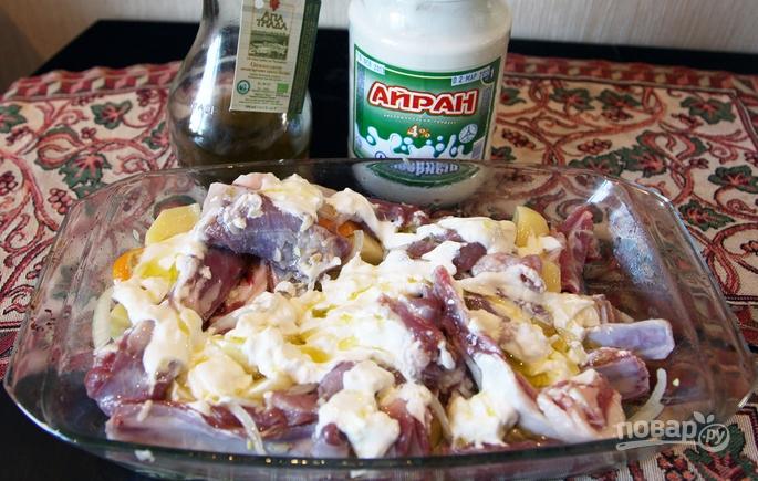 как приготовить бараньи ребрышки в духовке с картошкой