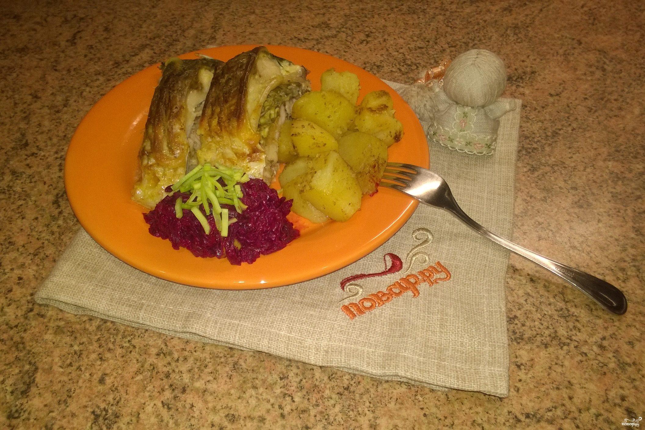 Рыба со сметаной