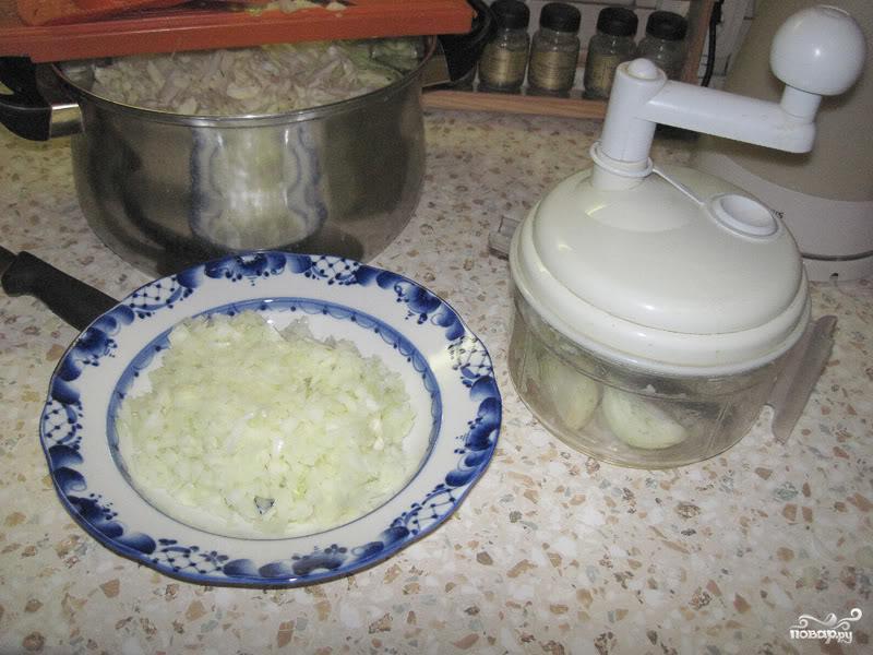 Солянка из капусты - фото шаг 2