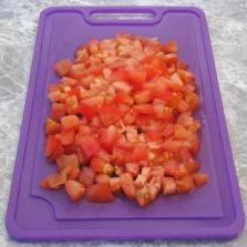 Яичница с помидорами и ветчиной - фото шаг 4