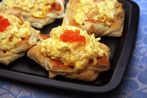 Креветки с сыром