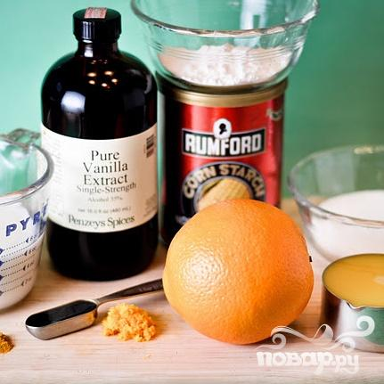 Апельсиновые капкейки с глазурью - фото шаг 1