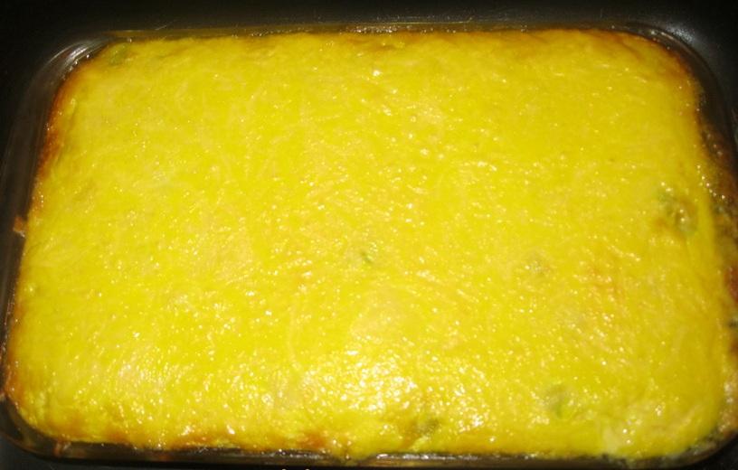 Запеканка из кабачков с сыром - фото шаг 12