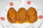 Голубцы ленивые в сметанном соусе