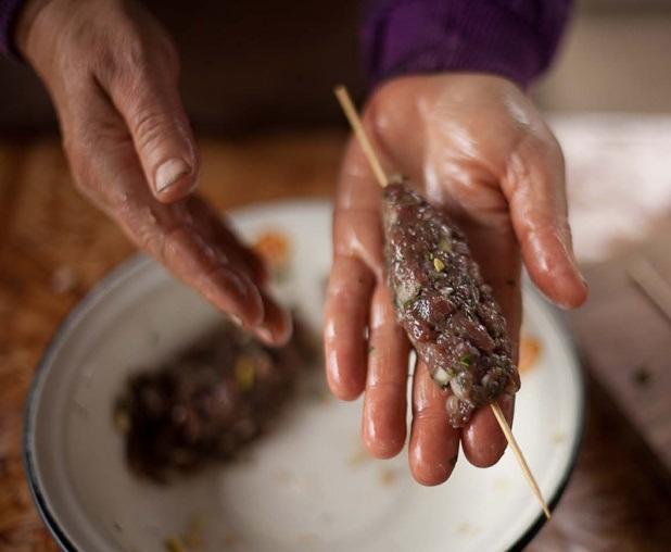 Люля-кебаб из лосятины - фото шаг 3