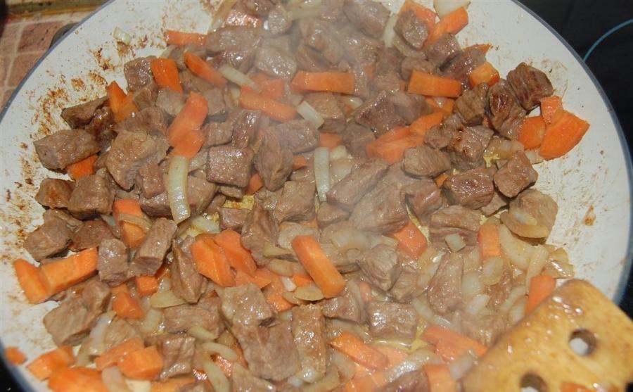 Жаркое из говядины - фото шаг 4