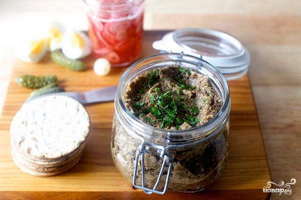 рецепт грибной икры в духовке