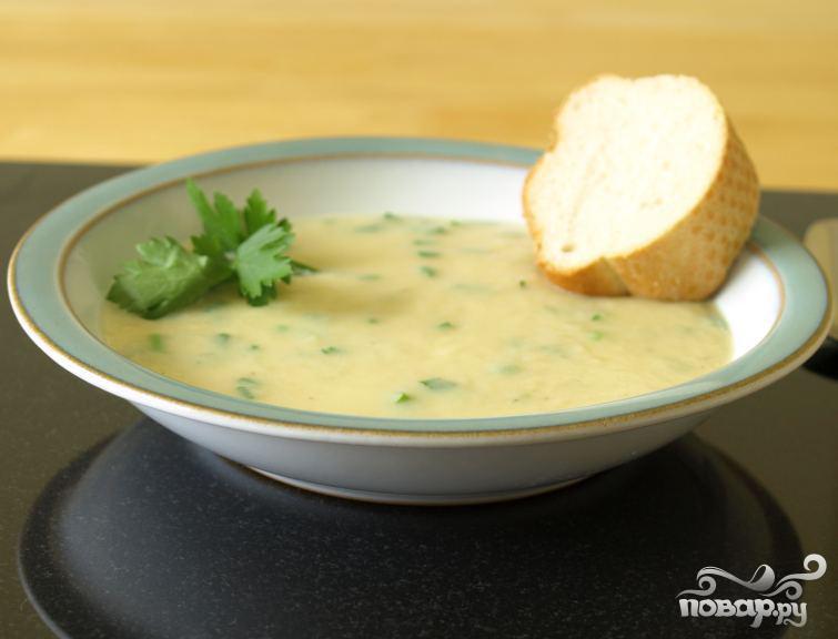 Чесночный суп - фото шаг 3