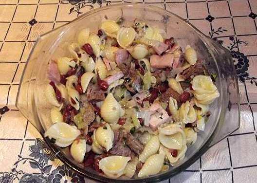 Теплый салат с говядиной - фото шаг 10