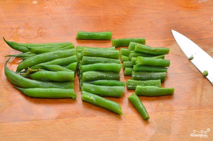 Салат с фисташками - фото шаг 5