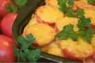 Картофель с фаршем в мультиварке