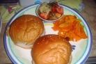 Бургеры с беконом и грибами