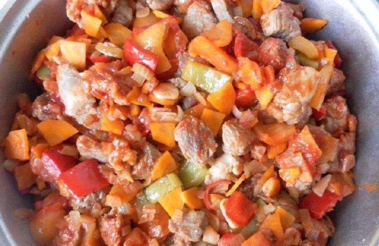 Рагу с мясом и картошкой - фото шаг 3