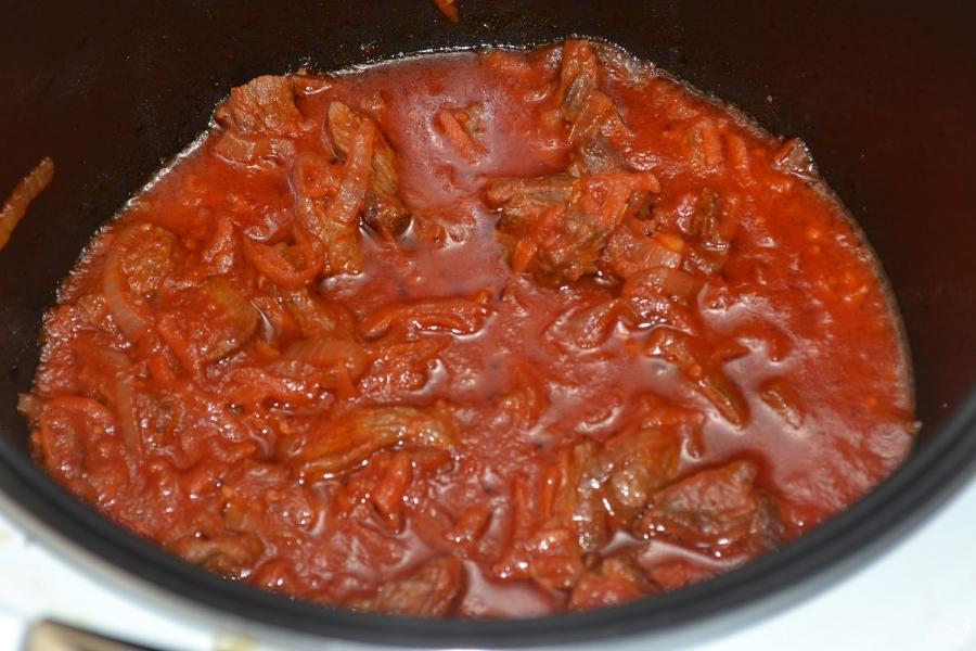Подлива из говядины рецепт с фото