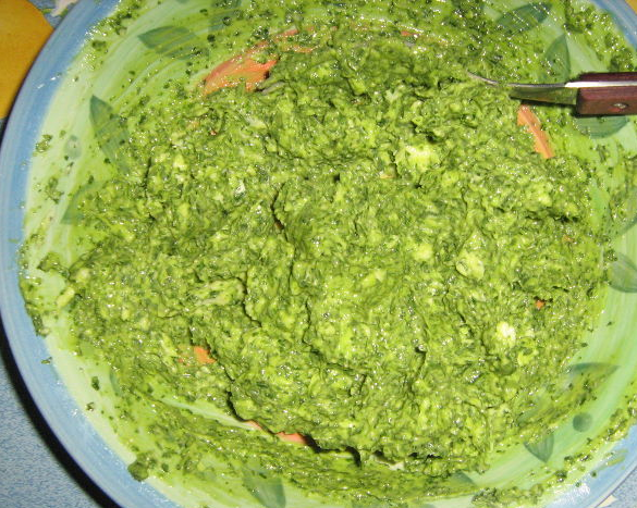 Масло сливочное с зеленью - фото шаг 1