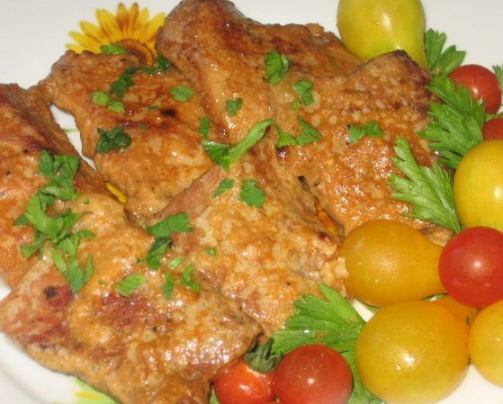 рецепт свинины на сковороде и духовке