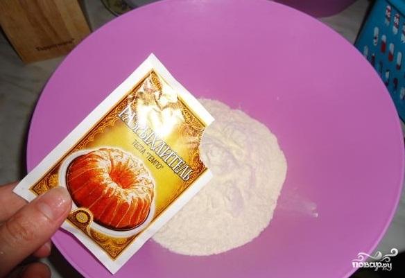 Вкусный пирог с вишней и творогом - фото шаг 3