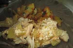 Курица с ананасами в мультиварке - фото шаг 5