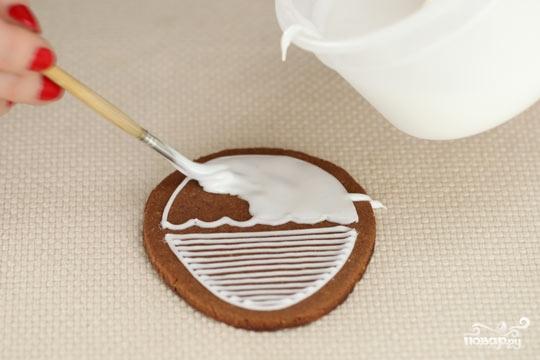 Пасхальные печенья с глазурью - фото шаг 4