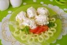 Картофель под чесночным соусом